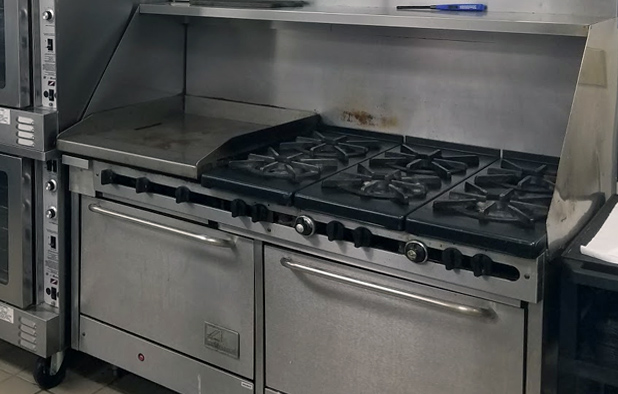 used-stove